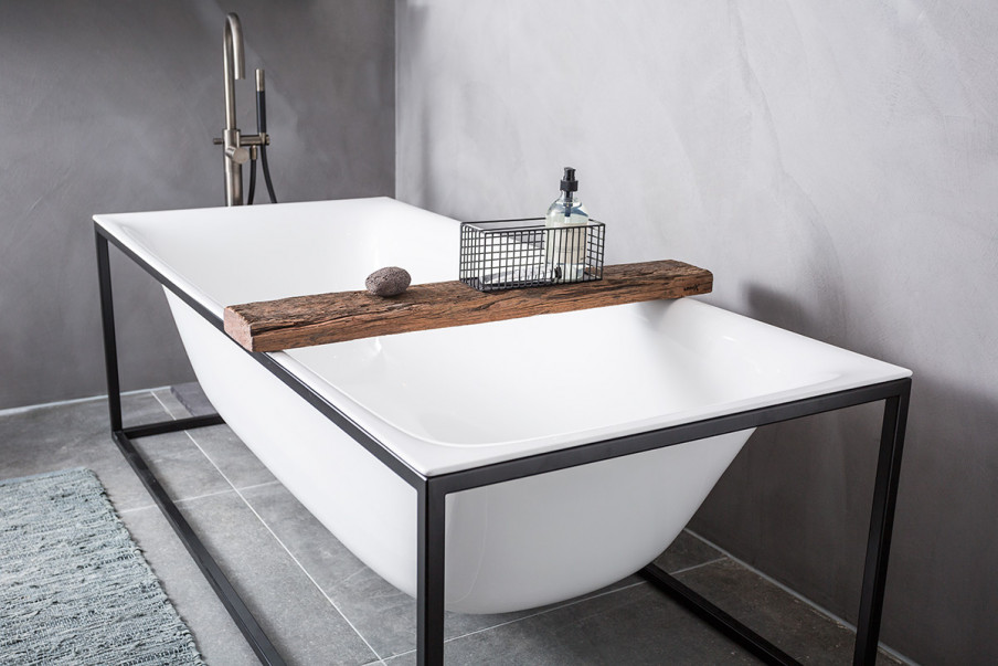 Badkamer lichte tegels mooie badkamertegels natuur eigentijdse