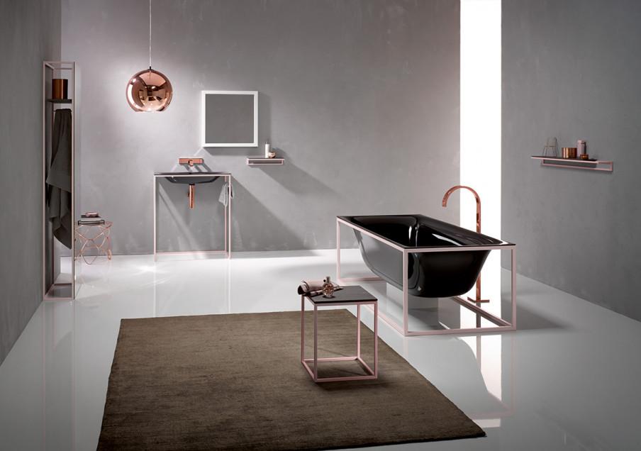 Rosé goud in de badkamer durf jij meester smeets